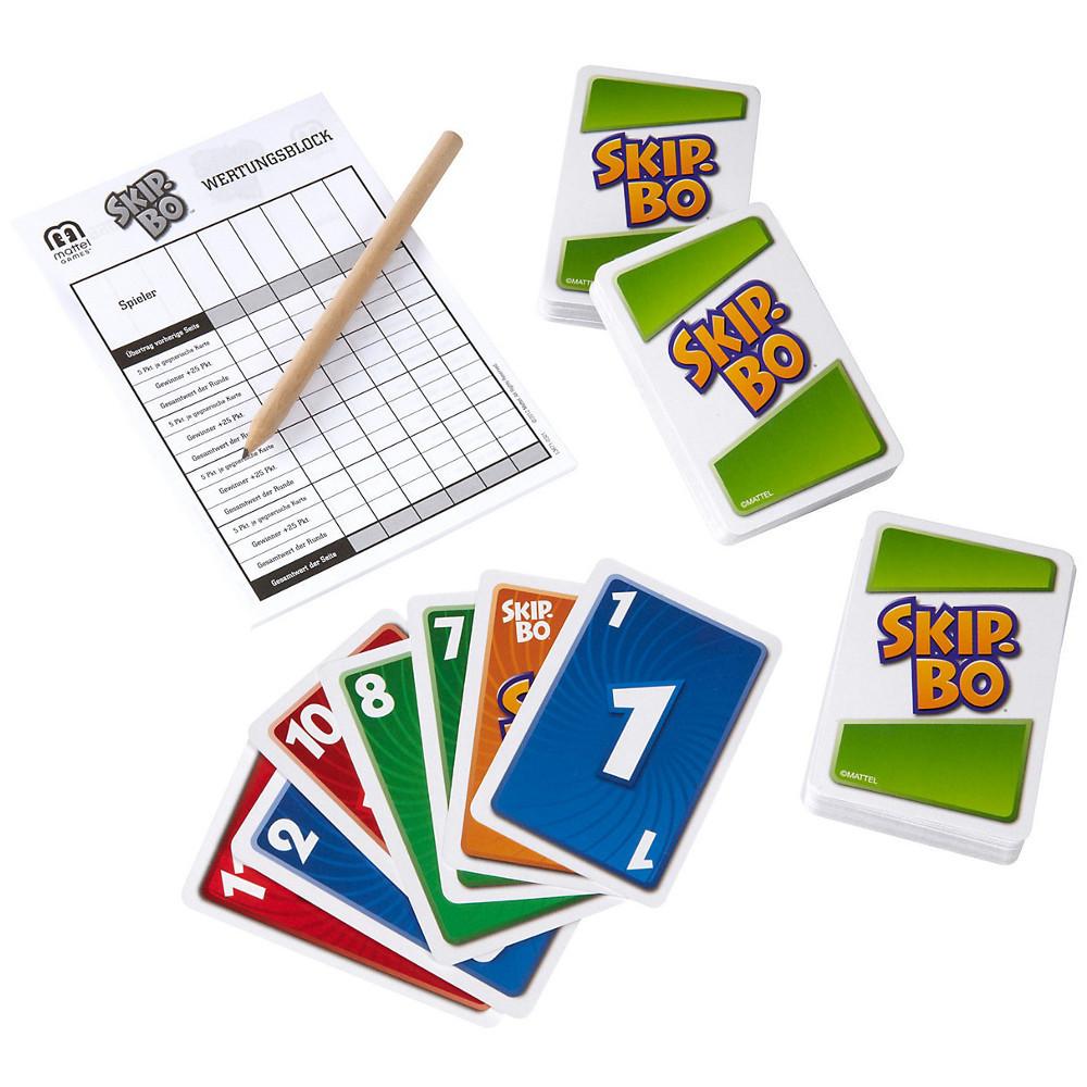 Skip Bo Karten Anzahl